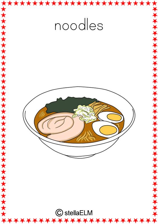Flashcards Food