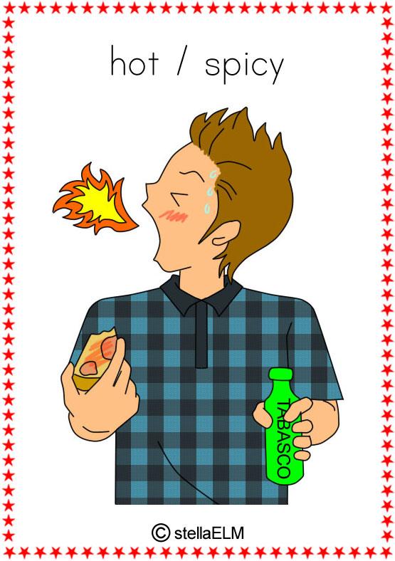 flashcards : taste