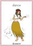 verb dance