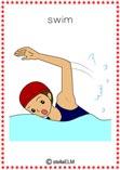 verb swim