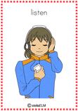 verb listen