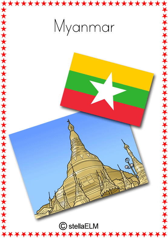 Flashcards Countries 01