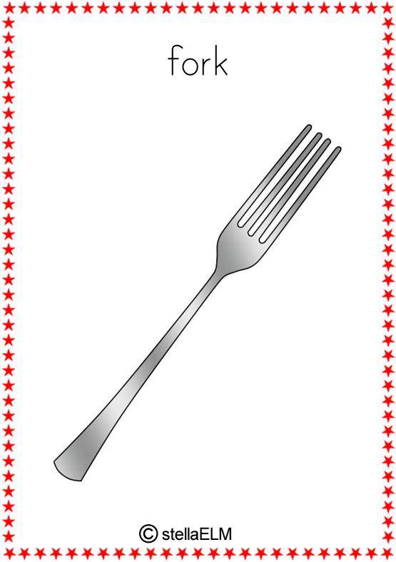 Flashcards Kitchen Utensils Stellaelm