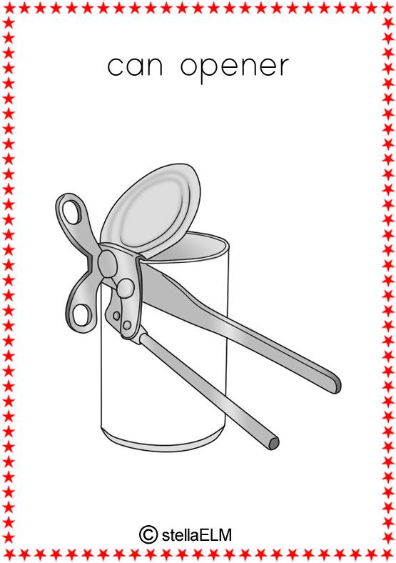 Kitchen Tools Worksheet flashcards : kitchen utensils