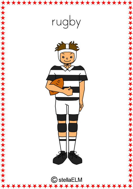 Flashcards Sports
